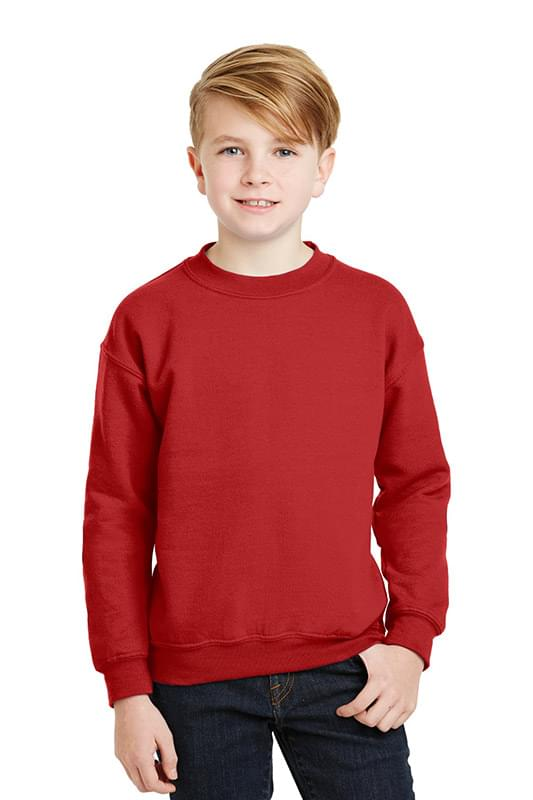 Gildan ®  - Youth Heavy Blend™ Crewneck Sweatshirt.  18000B