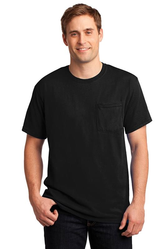 JERZEES ®  -  Dri-Power ®  50/50 Cotton/Poly Pocket T-Shirt.  29MP