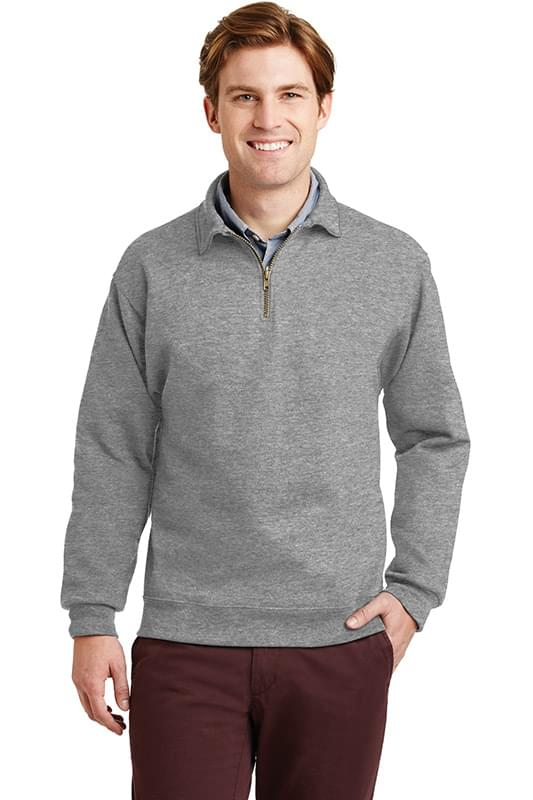 JERZEES ®  SUPER SWEATS ®  NuBlend ®  - 1/4-Zip Sweatshirt with Cadet Collar.  4528M