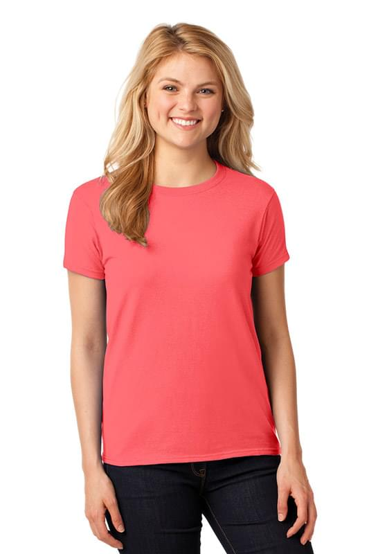 Gildan ®  Ladies Heavy Cotton™ 100% Cotton T-Shirt. 5000L