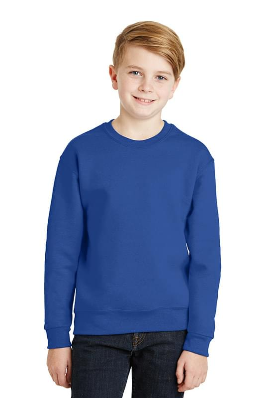 JERZEES ®  - Youth NuBlend ®  Crewneck Sweatshirt.  562B