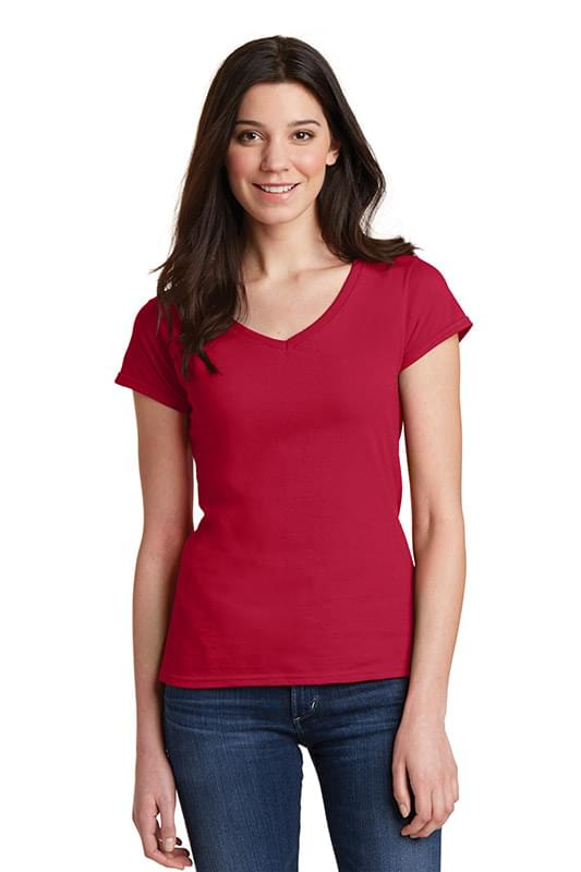 Gildan Softstyle ®  Women's Fit V-Neck T-Shirt. 64V00L