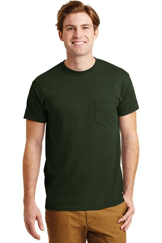 Gildan ®  - DryBlend ®  50 Cotton/50 Poly Pocket T-Shirt. 8300