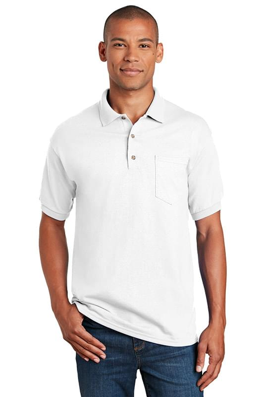 Gildan ®  DryBlend ®  6-Ounce Jersey Knit Sport Shirt with Pocket. 8900