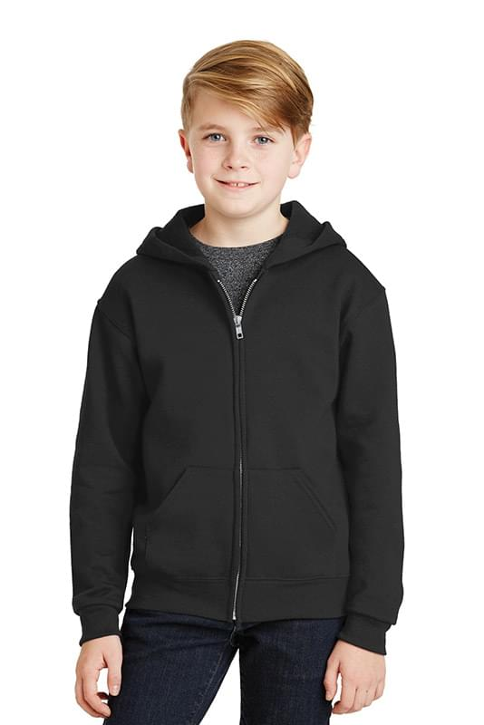 JERZEES ®  - Youth NuBlend ®  Full-Zip Hooded Sweatshirt.  993B