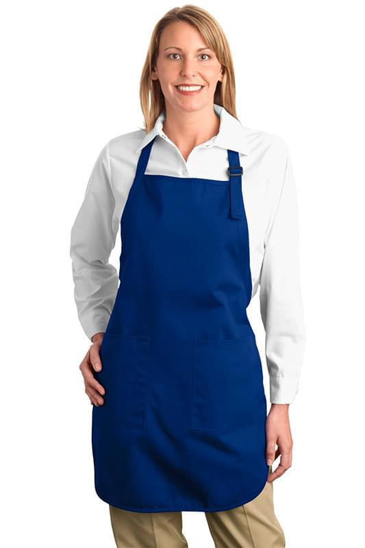 Port Authority ®  Full-Length Apron with Pockets.  A500