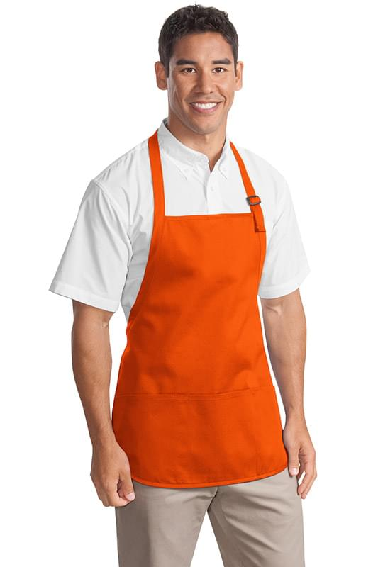 Port Authority ®  Medium-Length Apron with Pouch Pockets.  A510