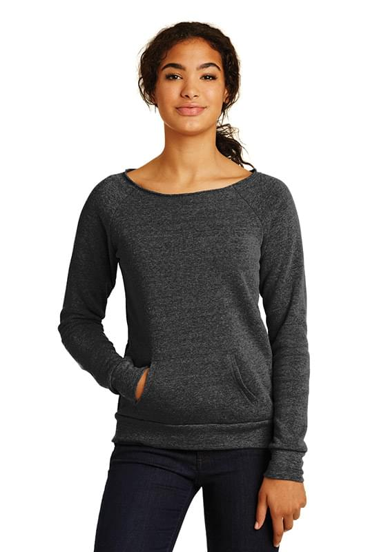 Alternative Women's Maniac Eco ™  -Fleece Sweatshirt. AA9582