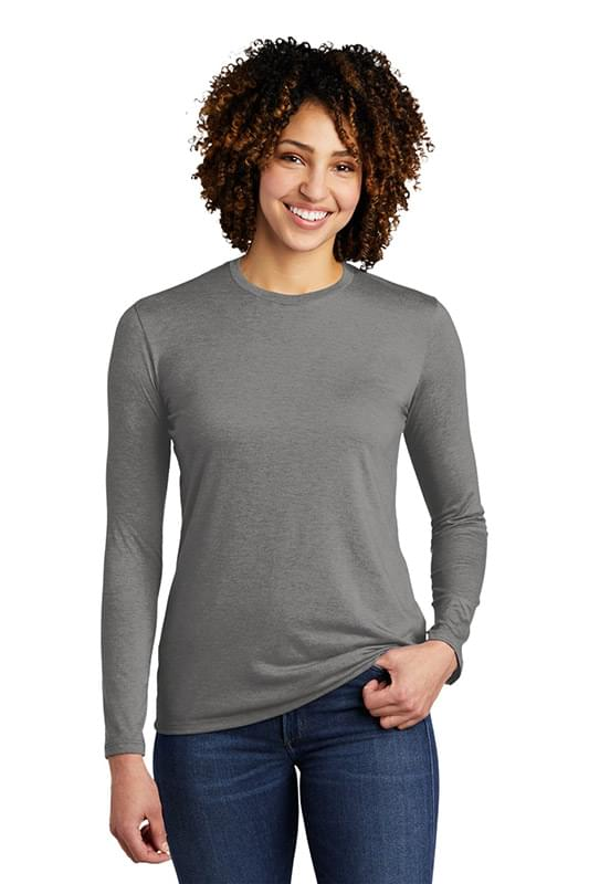 Allmade  ®   Women's Tri-Blend Long Sleeve Tee AL6008