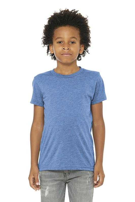BELLA+CANVAS  ®  Youth Triblend Short Sleeve Tee. BC3413Y