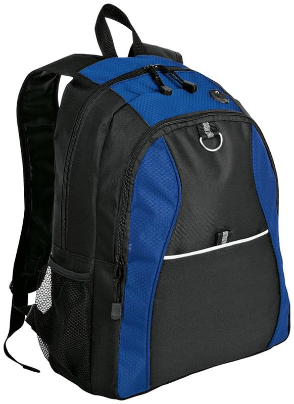 Port Authority ®  Contrast Honeycomb Backpack. BG1020