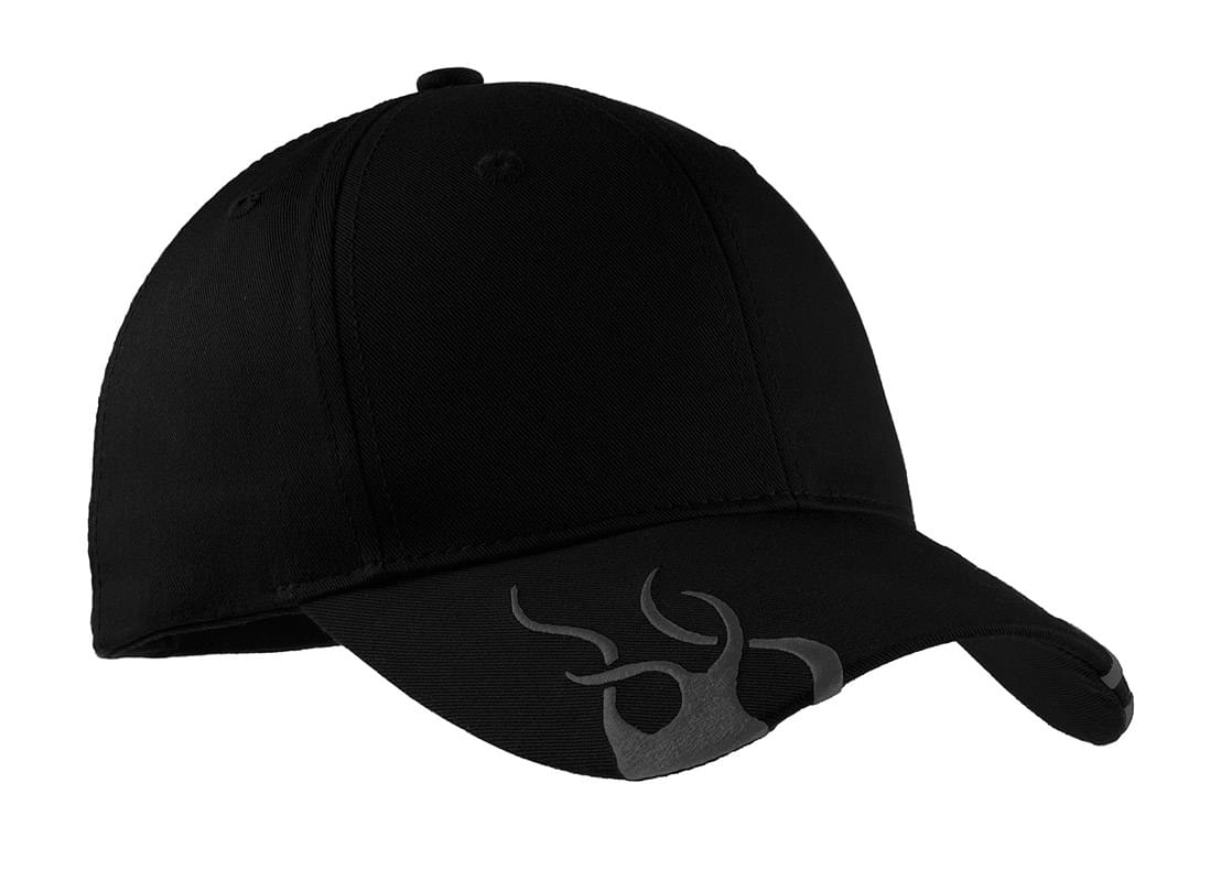 Port Authority ®  Racing Cap with Flames.  C857