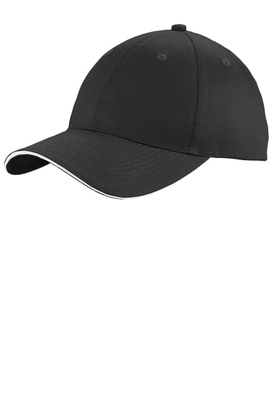 Port & Company ®  Unstructured Sandwich Bill Cap. C919