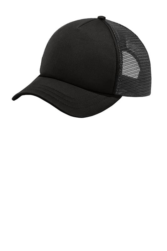 Port Authority  ®  5-Panel Twill Foam Trucker Cap. C936