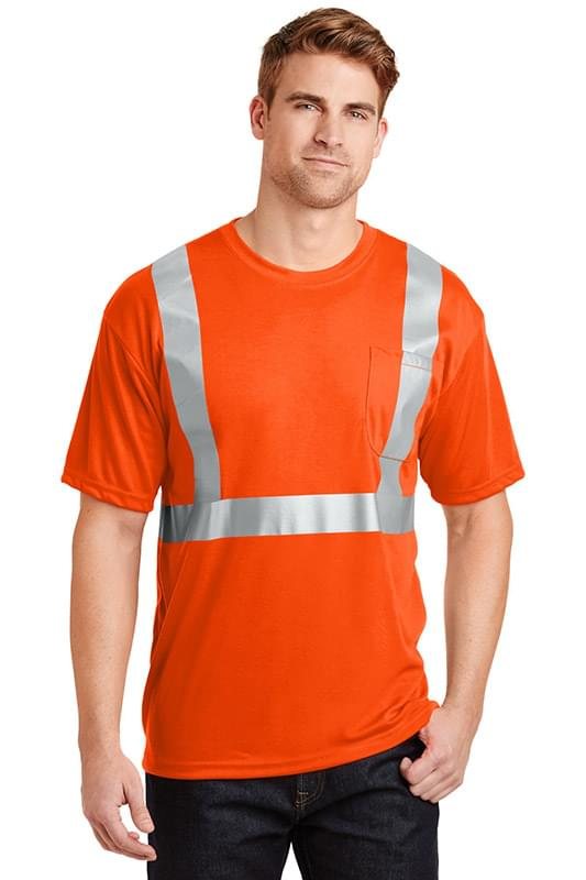 CornerStone ®  - ANSI 107 Class 2 Safety T-Shirt.  CS401
