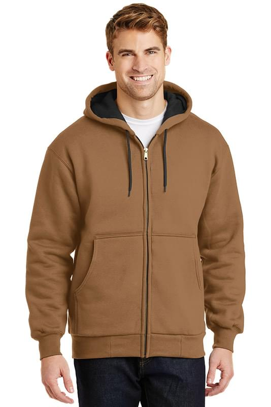 CornerStone ®  - Heavyweight Full-Zip Hooded Sweatshirt with Thermal Lining.  CS620