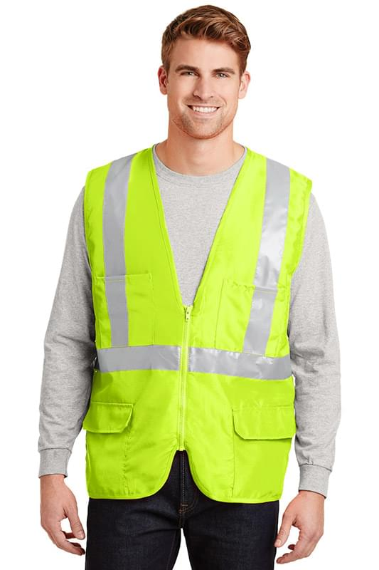 CornerStone ®  - ANSI 107 Class 2 Mesh Back Safety Vest. CSV405