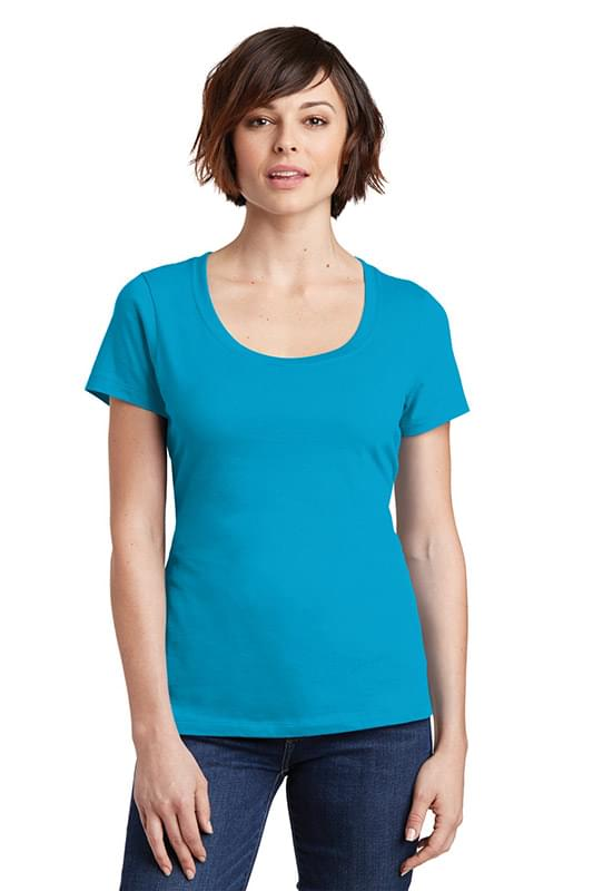 District ®  Women's Perfect Weight ®  Scoop Tee. DM106L