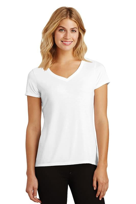 District ®  Women's Perfect Tri ®  V-Neck Tee. DM1350L
