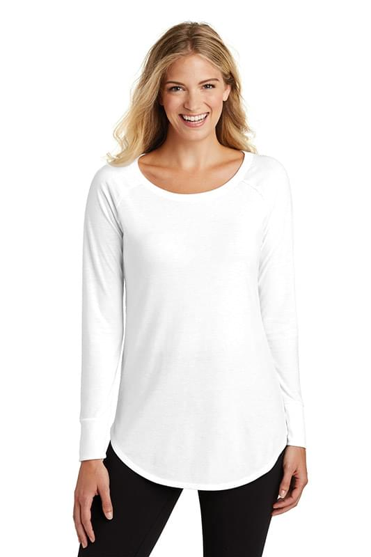 District  ®  Women's Perfect Tri  ®  Long Sleeve Tunic Tee. DT132L