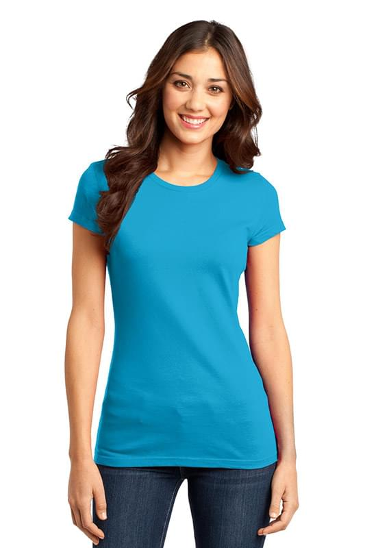 District ®  Women's Fitted Very Important Tee ® . DT6001