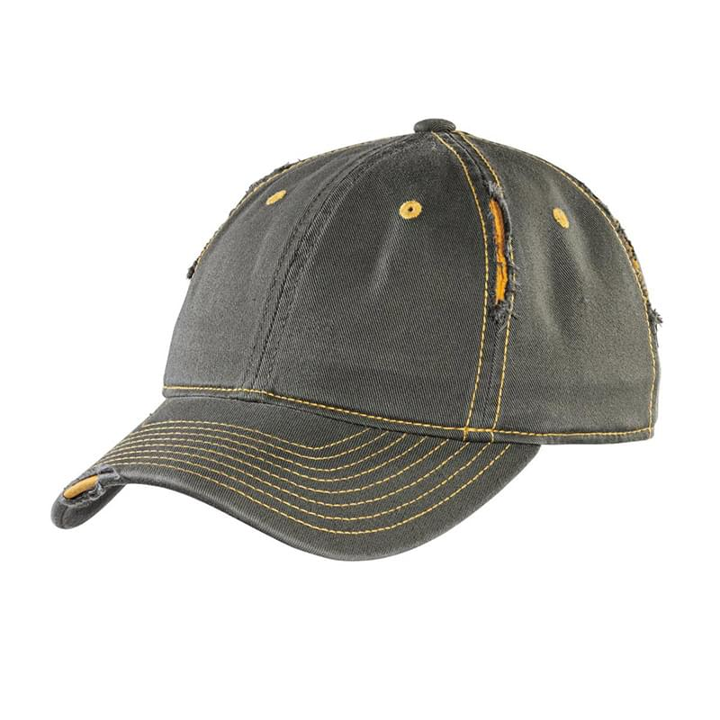 District ®  Rip and Distressed Cap DT612