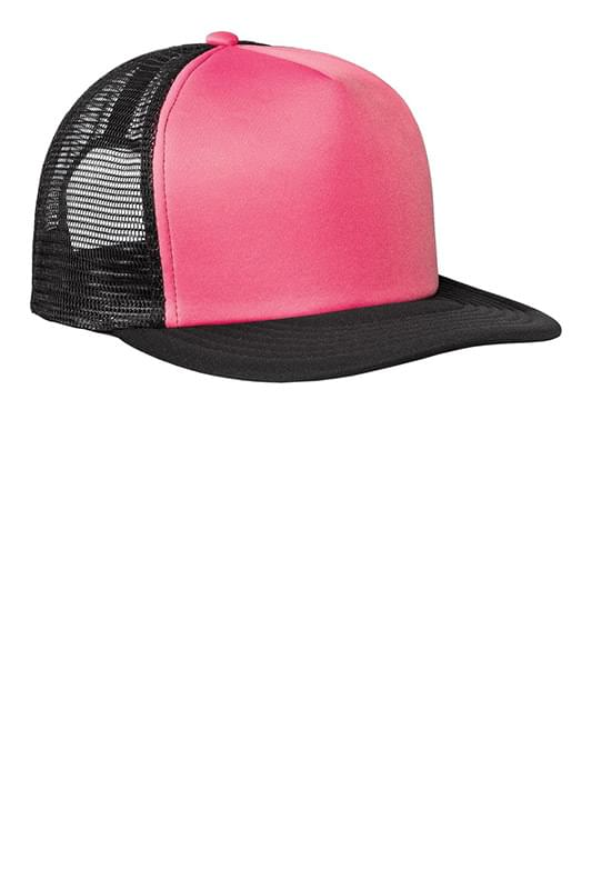 District ®  Flat Bill Snapback Trucker Cap. DT624