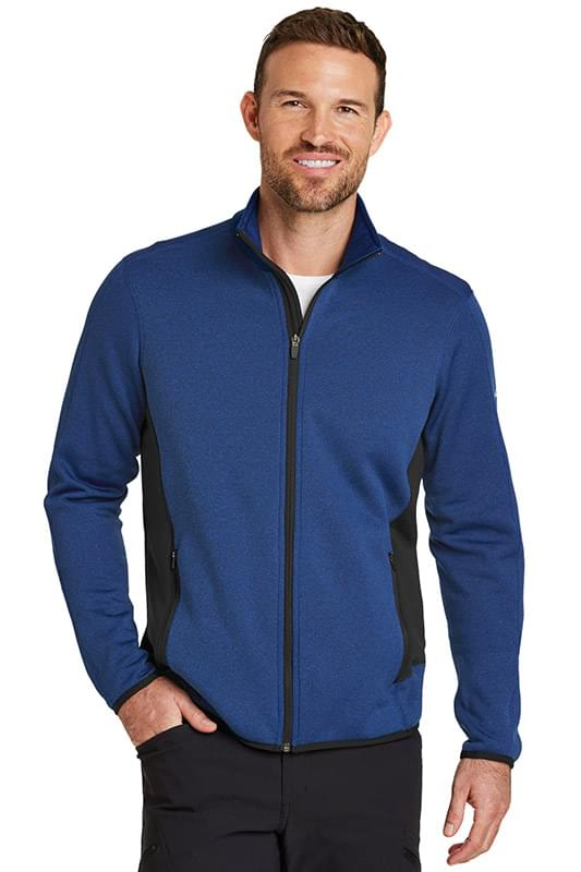 Eddie Bauer ®  Full-Zip Heather Stretch Fleece Jacket. EB238