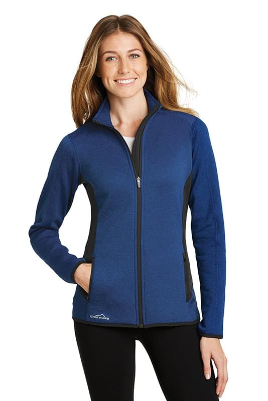 Eddie Bauer ®  Ladies Full-Zip Heather Stretch Fleece Jacket. EB239