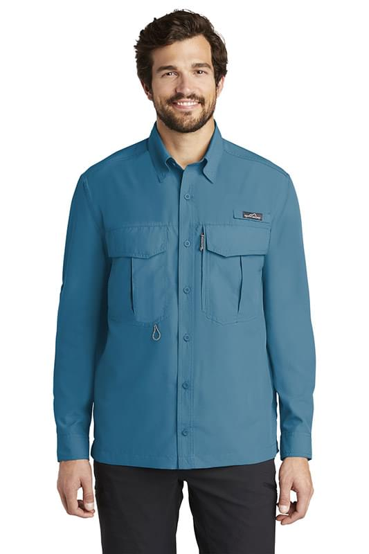 Eddie Bauer ®  - Long Sleeve Performance Fishing Shirt. EB600
