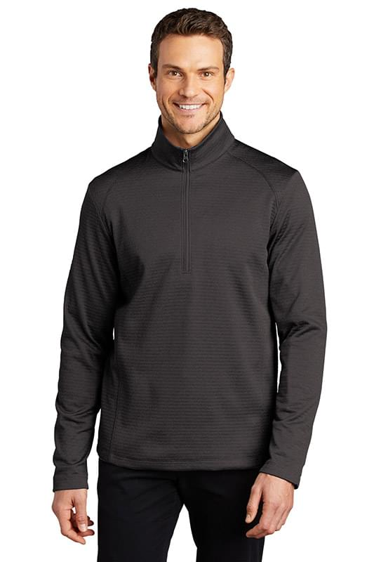 Port Authority  ®  Diamond Heather Fleece 1/4-Zip Pullover F248
