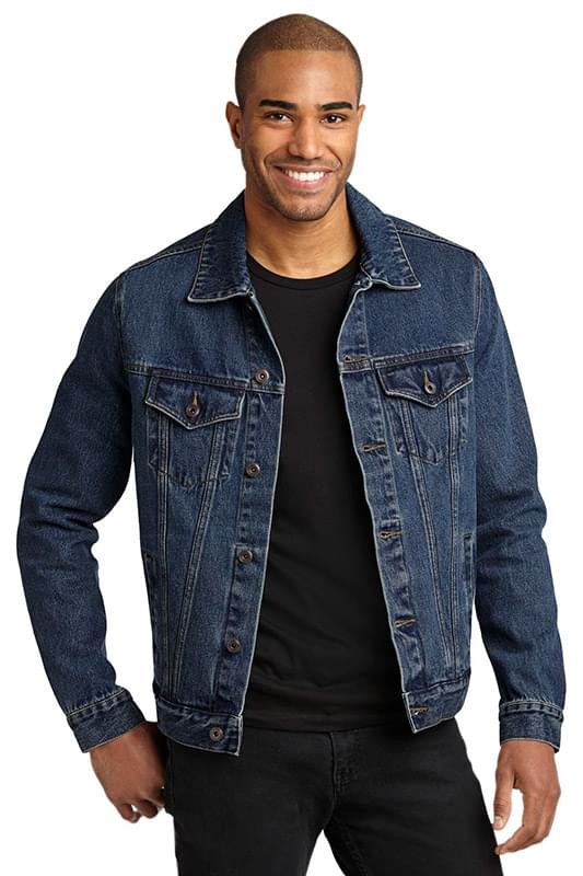 PORT AUTHORITY DENIM JACKET