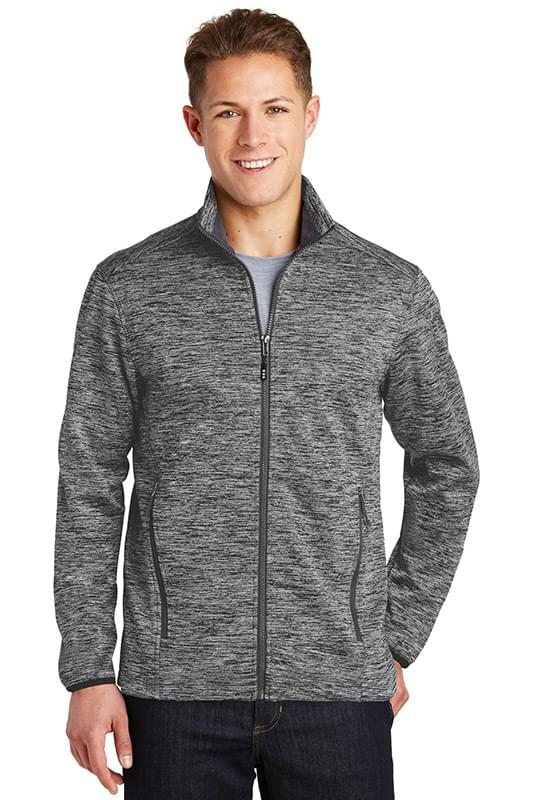 Sport-Tek ®  PosiCharge ®  Electric Heather Soft Shell Jacket. JST30
