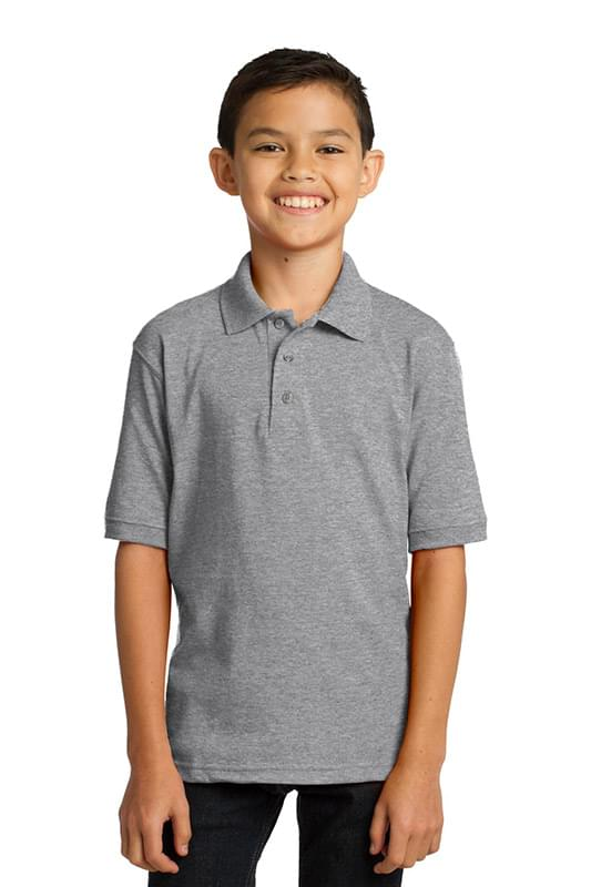 Port & Company ®  Youth Core Blend Jersey Knit Polo. KP55Y