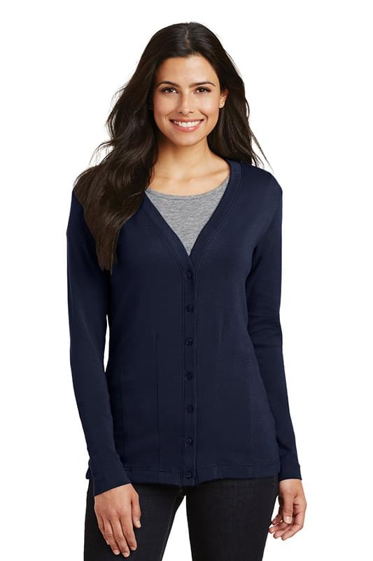 Port Authority ®  Ladies Modern Stretch Cotton Cardigan. L515