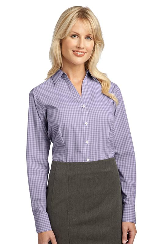 Port Authority ®  Ladies Plaid Pattern Easy Care Shirt. L639