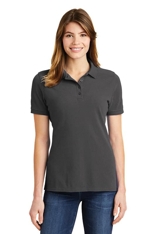 Port & Company ®  Ladies Combed Ring Spun Pique Polo. LKP1500