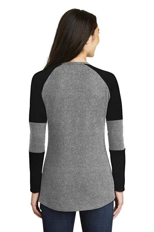 New Era  ®  Ladies Tri-Blend Performance Baseball Tee. LNEA132
