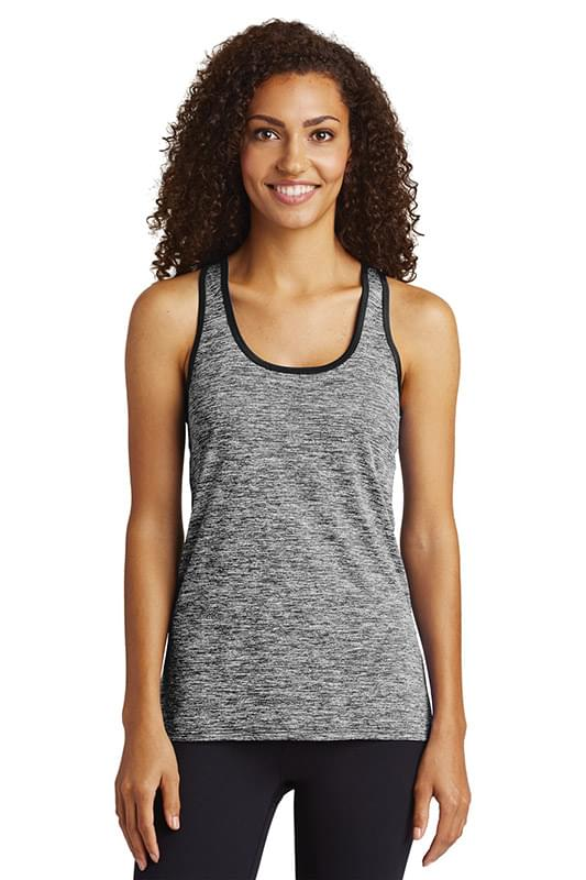 Sport-Tek  ®  Ladies PosiCharge  ®  Electric Heather Racerback Tank. LST396