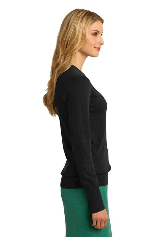 Port Authority ®  Ladies V-Neck Sweater. LSW285