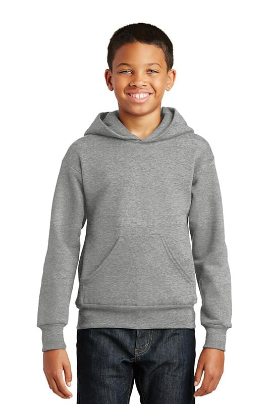 Hanes ®  - Youth EcoSmart ®  Pullover Hooded Sweatshirt.  P470