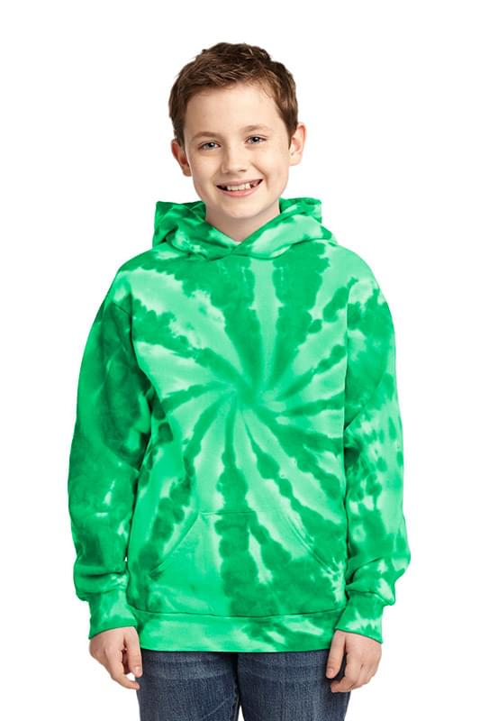 Port & Company ®  Youth Tie-Dye Pullover Hooded Sweatshirt. PC146Y