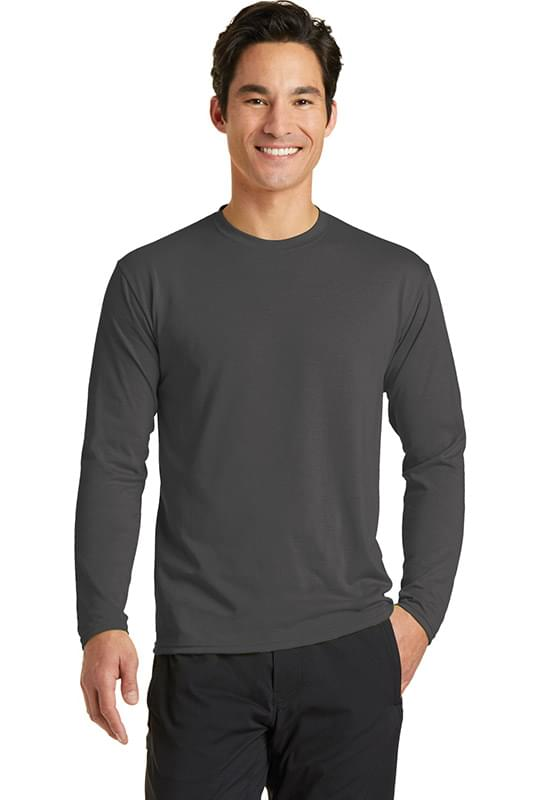 Port & Company ®  Long Sleeve Performance Blend Tee. PC381LS