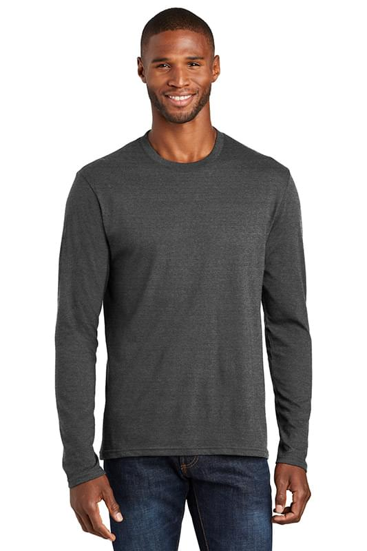 Port & Company  ®  Long Sleeve Fan Favorite  ™  Blend Tee. PC455LS