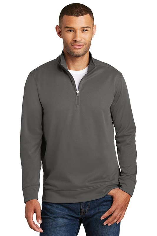 Port & Company ® Performance Fleece 1/4-Zip Pullover Sweatshirt. PC590Q