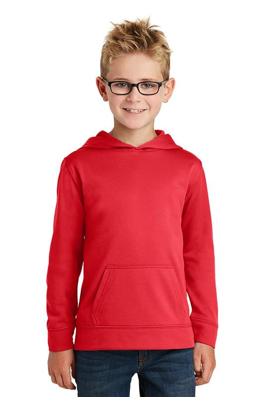 Port & Company ® Youth Performance Fleece Pullover Hooded Sweatshirt. PC590YH