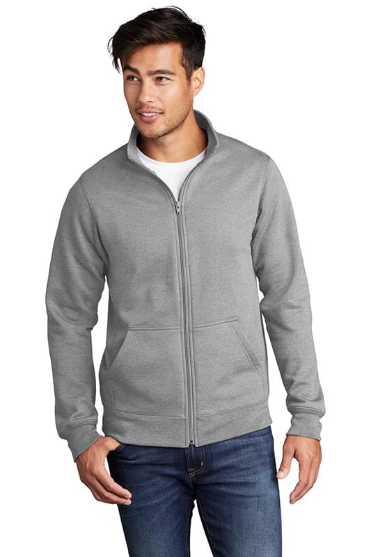 Port & Company  ®  Core Fleece Cadet Full-Zip Sweatshirt PC78FZ