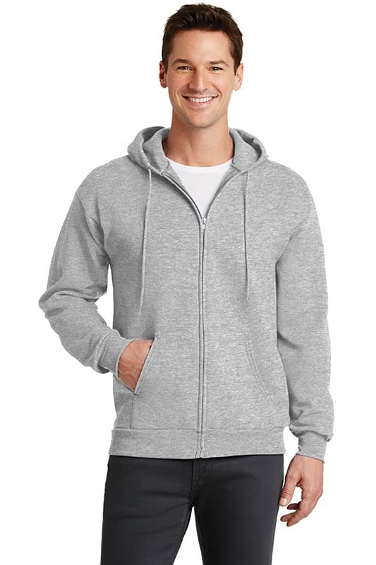 Port & Company ®  - Core Fleece Full-Zip Hooded Sweatshirt. PC78ZH