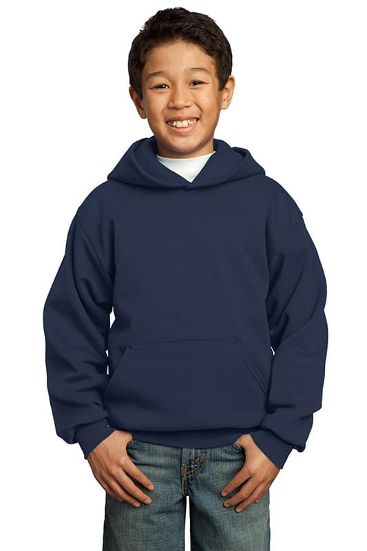 Port & Company ®  - Youth Core Fleece Pullover Hooded Sweatshirt.  PC90YH