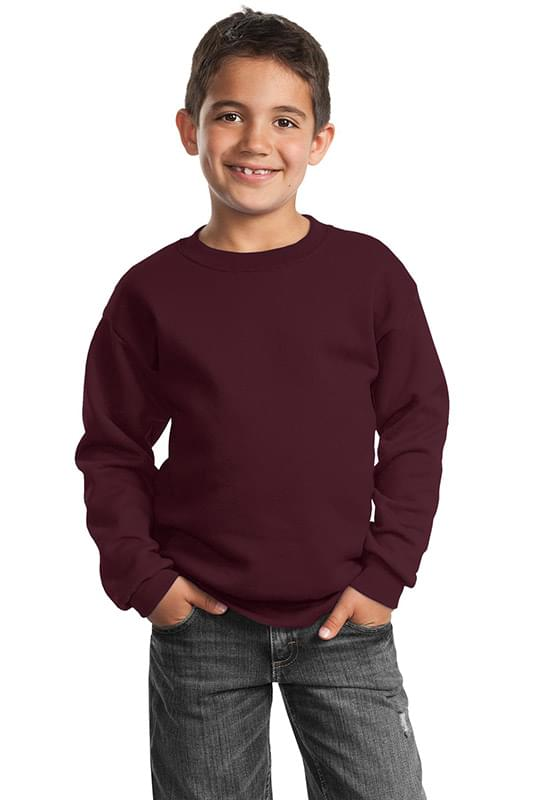 Port & Company ®  - Youth Core Fleece Crewneck Sweatshirt.  PC90Y